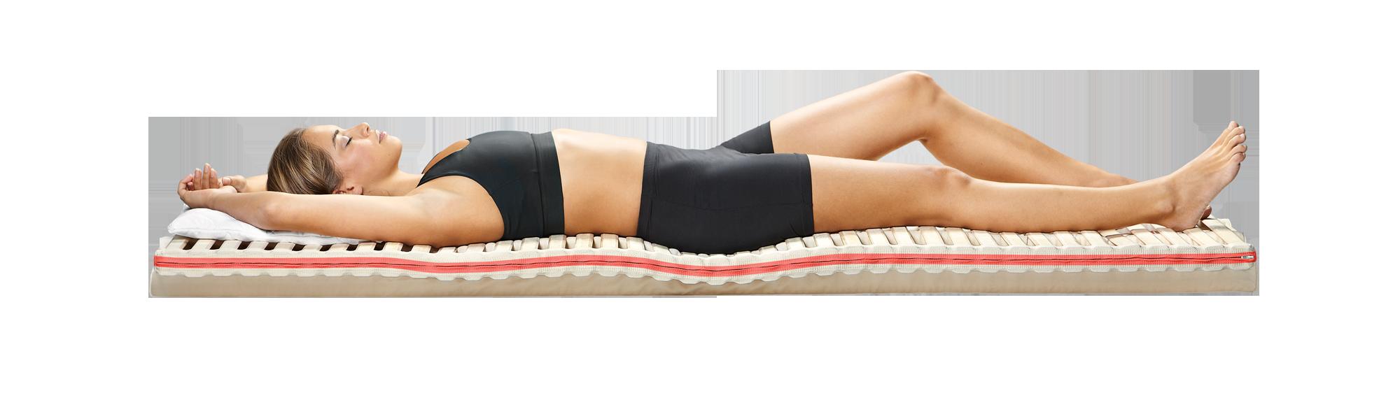 Wirbelscanner-Analyse Schlaf-System Unterfederung Matratze Kopfkissen